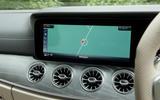 Mercedes-AMG CLS 53 2018 road test review - infotainment satnav