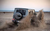 Mercedes-AMG G63 2018 review sand rear