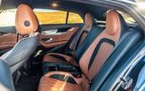 Mercedes-AMG GT four-door Coupé 2019 road test review - rear seats
