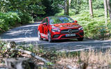 Mercedes-Benz CLA 2019 road test review - on the road front