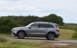 Mercedes-Benz GLB 2020 road test review - on the road side