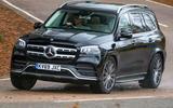 Mercedes-Benz GLS 2020 road test review - cornering front