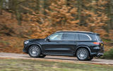 Mercedes-Benz GLS 2020 road test review - on the road side