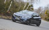 Nissan Micra N-Sport 2019 road test review - cornering front