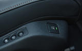 Peugeot 508 2018 road test review - seat controls