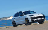 Porsche Cayenne Turbo 2018 road test review hero static