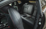 21 Toyota GR Yaris 2021 UK road test review rear seats