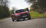 21 Vauxhall mokka 2021 RT on road front