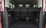 Vauxhall Vivaro Life 2019 road test review - boot