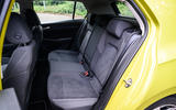 Volkswagen Golf 2020 road test review - rear seats
