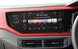 Volkswagen Polo GTI 2018 road test review infotainment
