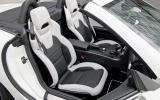 Mercedes-AMG SLK 55 front seats