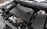 2.0-litre Saab 9-5 diesel engine