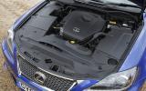 2.0-litre Lexus IS 200d diesel engine