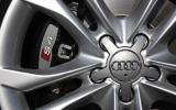 Audi S4 brake calipers