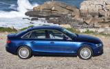 Audi A4 2.0 TDIe SE side profile