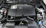 2.1-litre Mercedes-Benz SLK 250 diesel engine