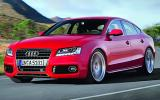 Audi A5 Sportback cornering