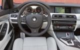 BMW M5 dashboard