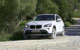 BMW X1 off-roading