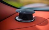Aston Martin DBS Superleggera 2018 road test review - speakers