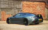 Aston Martin Rapide AMR 2019 first drive review - static rear