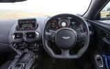 Aston Martin Vantage 2018 review steering wheel
