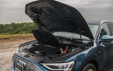 Audi E-tron 55 Quattro 2019 road test review - engine bay