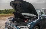Audi E-tron 55 Quattro 2019 road test review - engine bay