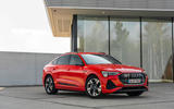 Audi E-tron Sportback 2020 road test review - static