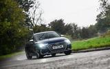 Audi S3 Sportback 2020 road test review - cornering front