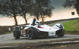 BAC Mono 2018 review - cornering front