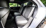 Bentley Flying Spur 2020 road test review - rear seats