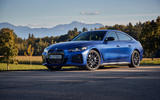 22 BMW i4 M50 2021 first drive review static front