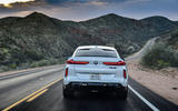 BMW X6 M Competition 2020 road test review - rear end