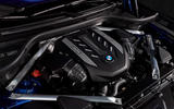 BMW X6 M50i 2019 road test review - engine