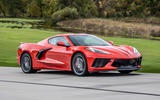 Corvette Stingray C8 2019 road test review - on the road side
