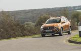 22 Dacia Sandero Stepway 2021 RT cornering front