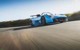 Dallara Stradale 2019 road test review - cornering front