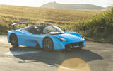 Dallara Stradale 2019 road test review - static front