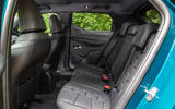 DS 3 Crossback 2019 road test review - rear seats