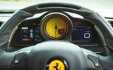 Ferrari 488 Pista 2019 road test review - instruments