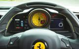 Ferrari 488 Pista 2019 road test review - instruments