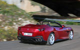 Ferrari Portofino review on the road rear view