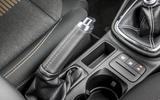 Ford Fiesta Active 2018 road test review centre console