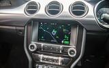 Ford Mustang Bullitt 2018 road test review - infotainment