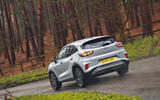 Ford Puma 2020 road test review - on the road rear