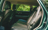 22 Genesis GV80 2021 road test review rear seats