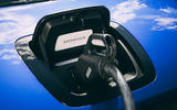 Honda e 2020 road test review - charging port