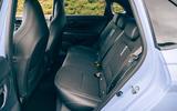 22 Hyundai i20 N 2021 RT rear seats
